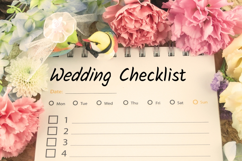 Wedding Checklist - shutterstock_406104781